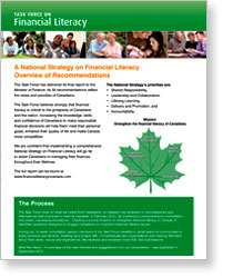 Post image for Report of the Task Force on Financial Literacy